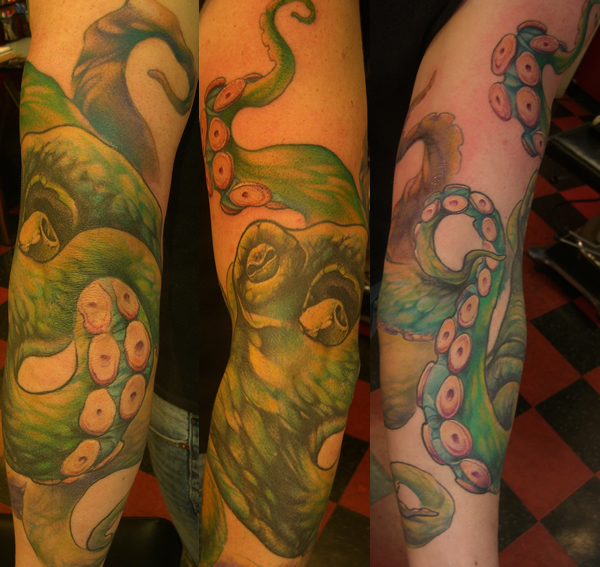 Octopus Sleeve by Steve Fuller