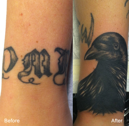 Crow Cover Up by Max Estes