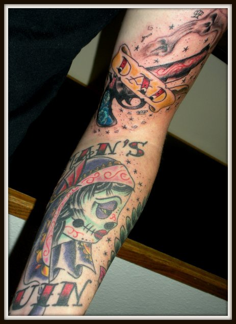 Dad & Man's Ruin Sleeve by Grego Peyton