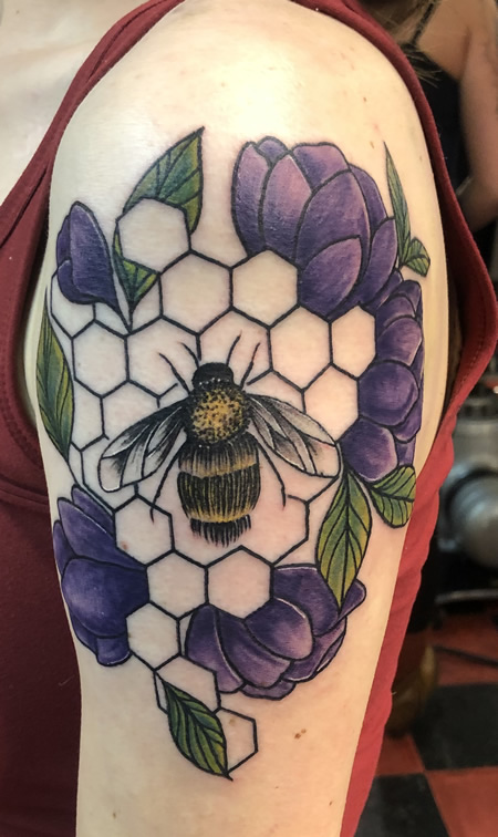 Bee by Caitlyn Flegel